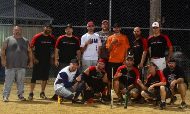 2018 Men's Softball Champions