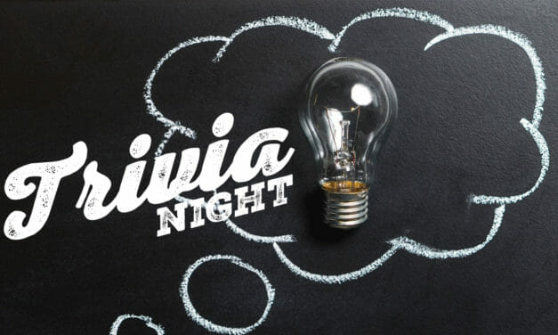 January trivia nights (1 for adults, 1 for teens)