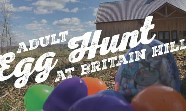 Adult Egg Hunt at Britain Hill