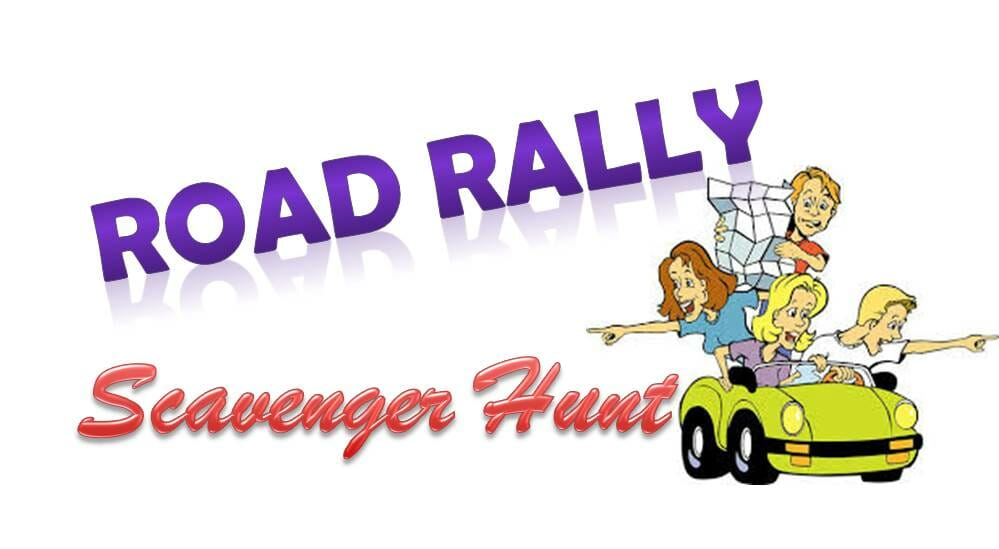 ROAD RALLY SCAVENGER HUNT, 10/30